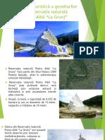 Integrarea turistica a geositurilor din zona Buzau