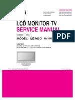 LG M2762D-P(W)ZL шасси LD93A