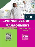Principles of Management HS300 for KTU students