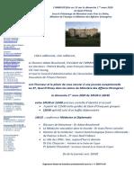 Invitation Et Programme 1 Mars 2020