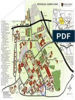 Wake Forest Campus map