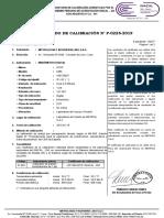TRANZABILIDAD MANÓMETRO P-0226-2019 (IP-142)