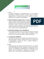 5 instituciones de Guatemala