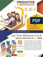 Catalogo y servicios Los Tres Editores S.A.S.