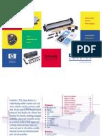 HP Maintenance Kit Catalog
