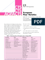 European Pear Varieties