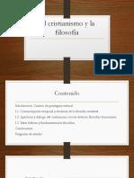 I. El cristianismo y la filosofía..pptx