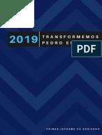 1er Informe de Gobierno Pedro Escobedo