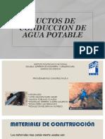 DUCTOS DE CONDUCCION DE AGUA POTABLE.pptx