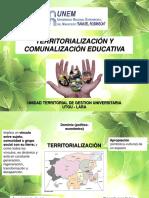 TERRITORIALIZACION Y COMUNALIZACION EDUCATIVA