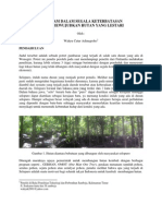 Menanam Untuk Mewujudkan Hutan Yang Lestari Dalam Segala Keterbatasan(2)