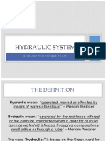 Hydraulic system-1