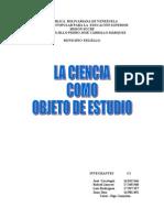 Expo Sic Ion de La Ciencia Como Objeto de Estudio