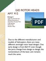 Semirigid Rotor Heads