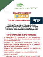 TREINAMENTO TCC da FASC
