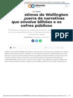 Os empréstimos de Wellington Dias_ a guerra de narrativas que envolve bilhões e os cofres públicos - OitoMeia