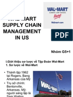 Wal Mart Supply Chain Management in Us 7026
