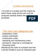 project cost financing & funding.doc
