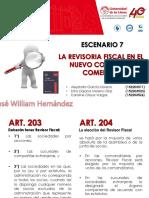 ESCENARIO 7 LA REVISORIA FISCAL EN EL NUEVO CODIGO DE COMERCIO
