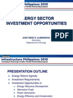 DOE Infrastructure Philippines 2010 Summit Presentation