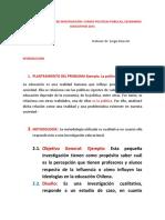 ESTRUCTURA TRABAJO DE INVESTIGACIÓN 2015
