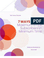7 Ways to Get Maximum E-Mail Subscribers in Minimum Time.pdf