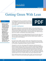 Getting Green With Lean_with Stakeholder Analysis