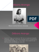 Unidad 7 Débora Arango - María Camila Ramírez