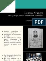 Unidad 7 Débora Arango- Manuela Martínez