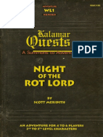 [K&C105] - WL1 Night of the Rot Lord