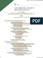 Codigo de Derecho Canonico IC