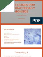 Infecciones por micobacterias y micosis