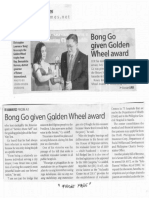 Manila Times, Jan. 27, 2020, Bong Go given Golden Wheel award.pdf