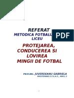 REFERAT_PROTEJAREA_CONDUCEREA_SI_LOVIREA.doc