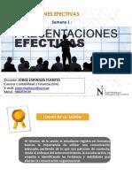 SESION 1 - Presentaciones Efectivas 2019-2