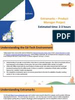 Product Manager Project - IIMC - Sai Kalyan - Extramarks