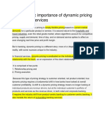The strategic importance of dynamic pricing in financial services.docx