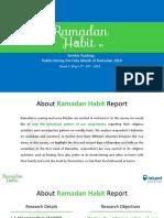 Ramadan Habit 2018