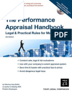 The Performance Appraisal Handbook-Lega lPractical Rules for Managers