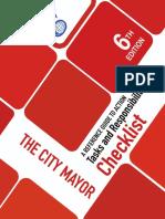 LGA 2019 Checklist for City Mayors
