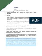4. Diagnostico y Evaluacion Tdah