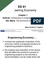 ES 91 Chapter 1 The Economic Environment