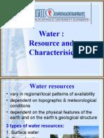 SUmber Dan Kualitas Air