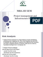 Analysis of Project Risk