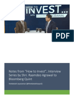 How to Invest_Raamdeo Agrawal