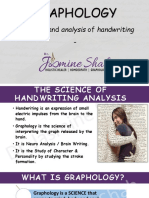The Science of Handwriting Analysis