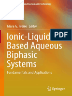 Ionic Liquid Based Aqueous Biphasic Systems Fundamentals and Applications