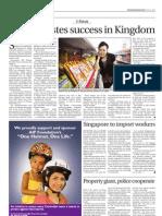 Filipina thriving in Phnom Penh
