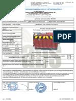 TB0022 LIFTING EQUIPMENT LOAD TEST + VISUAL + MPI