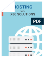 Free WebHosting With x86 Solutions